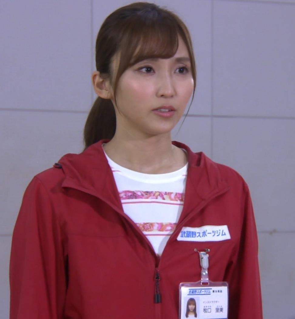 吉木りさ スポーツジムのインストラクター役キャプ・エロ画像13