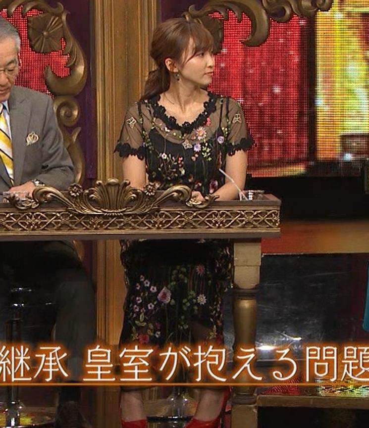 吉木りさ テレビでスケスケ衣装キャプ・エロ画像3
