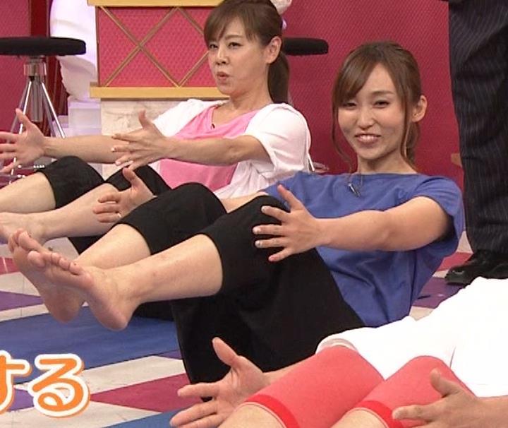 吉木りさ NHKでヨガやってエロいポーズしてるキャプ・エロ画像
