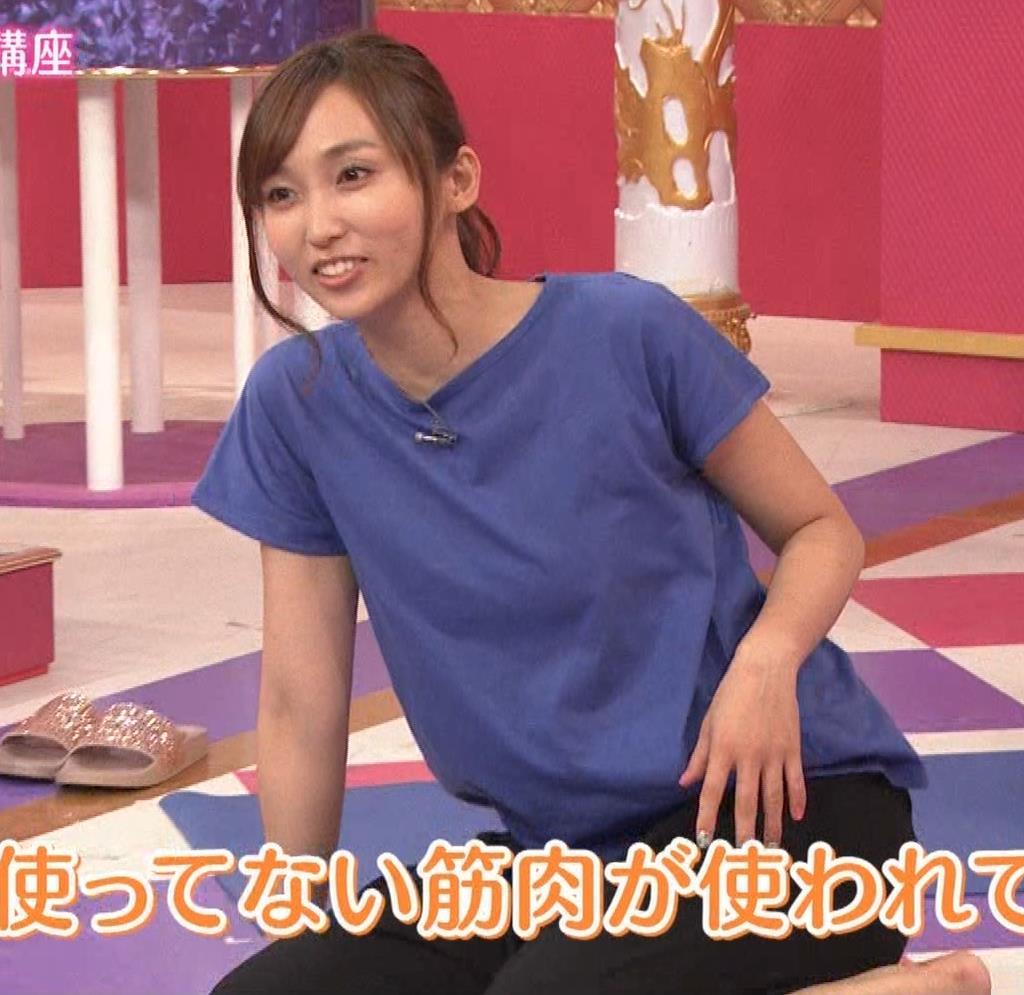 吉木りさ NHKでヨガやってエロいポーズしてるキャプ・エロ画像10