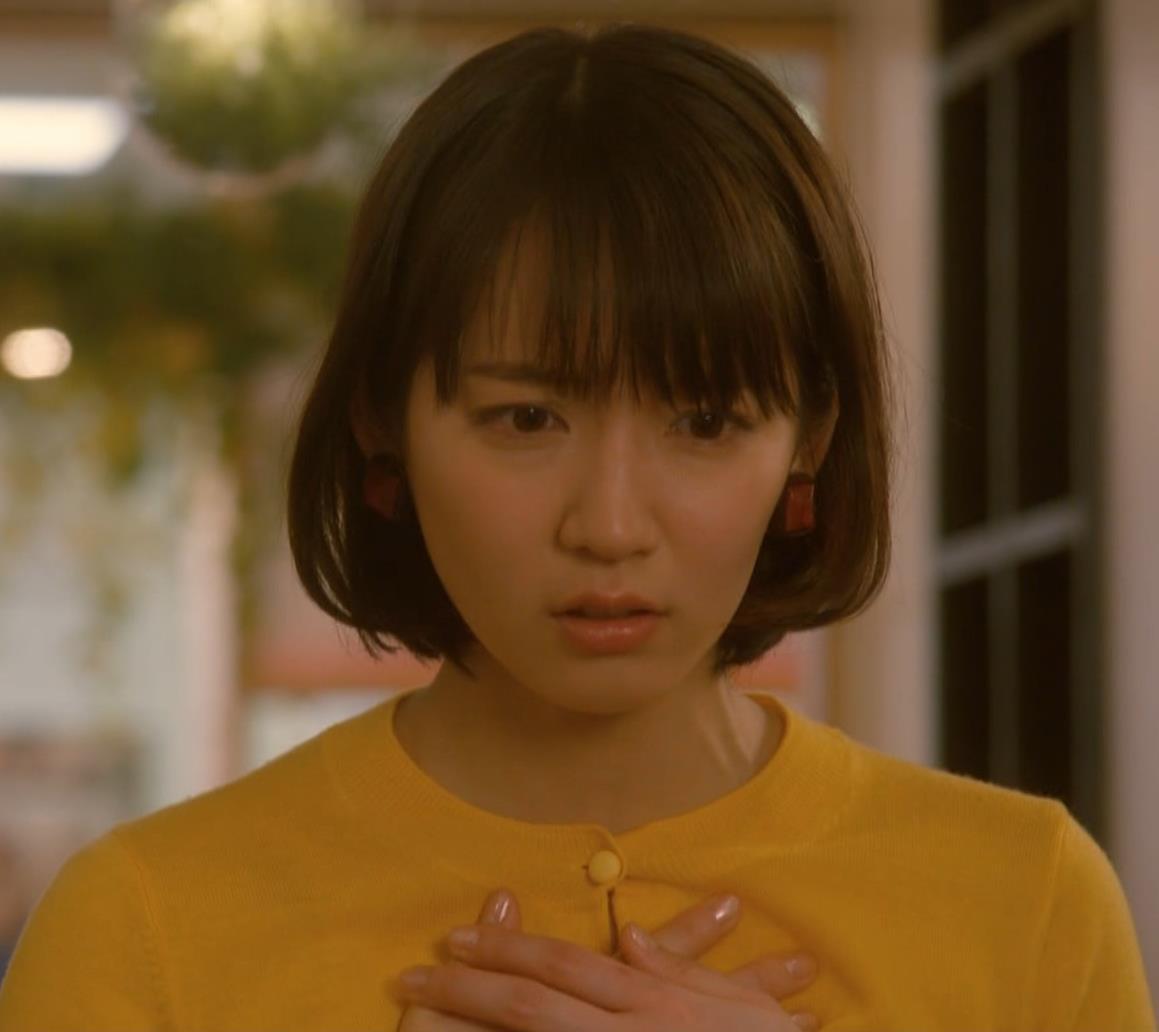 吉岡里帆 乳揺れGIF&キスシーンキャプ・エロ画像4