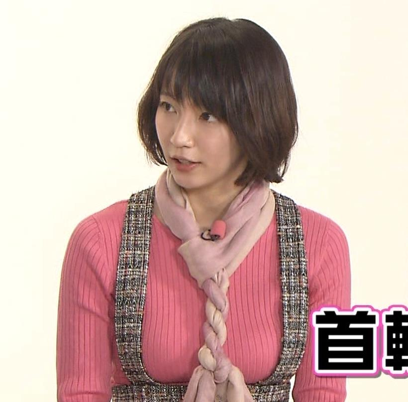 吉岡里帆 おっぱい強調ニットキャプ・エロ画像