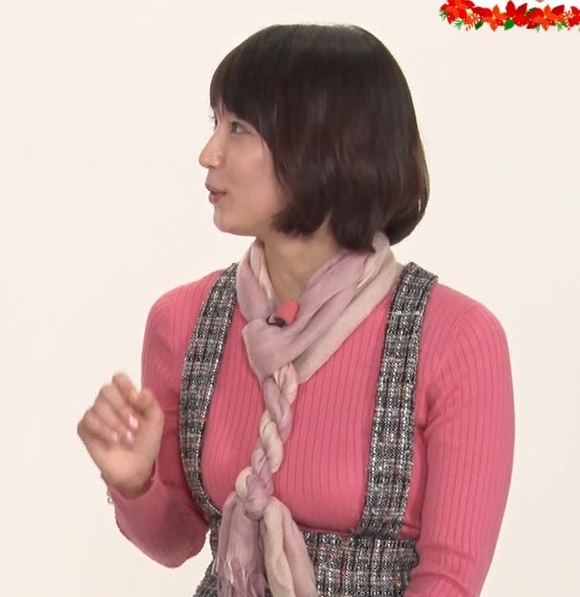 吉岡里帆 おっぱい強調ニットキャプ・エロ画像5