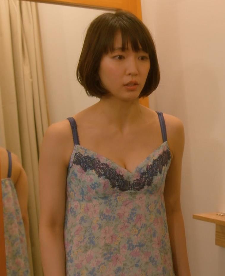 吉岡里帆 (エロドラマ)また下着姿でおっぱいプルプルキャプ・エロ画像8