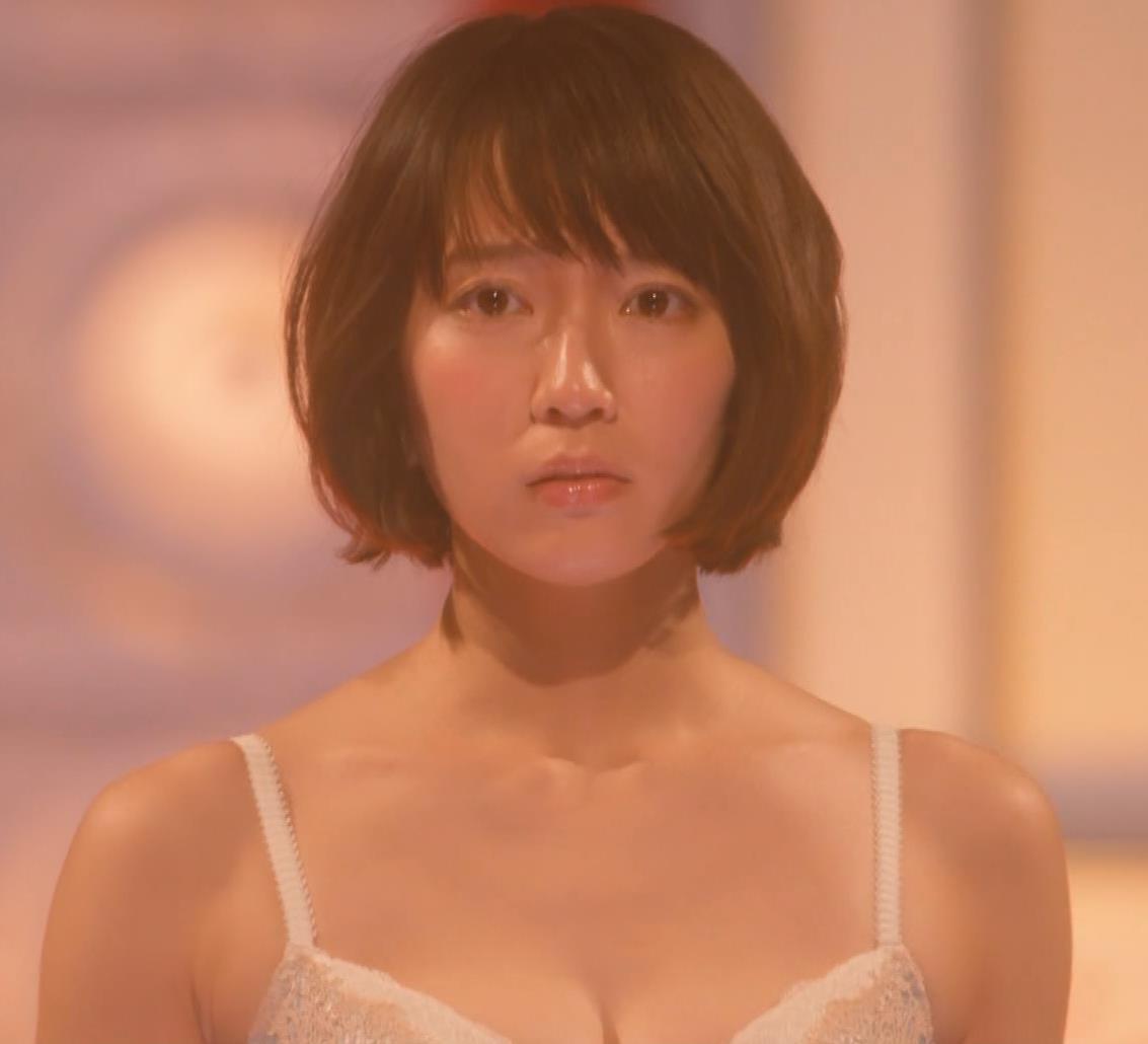 吉岡里帆 (エロドラマ) ブラジャー姿でおっぱいプルプルしている(GIF動画あり)キャプ・エロ画像12