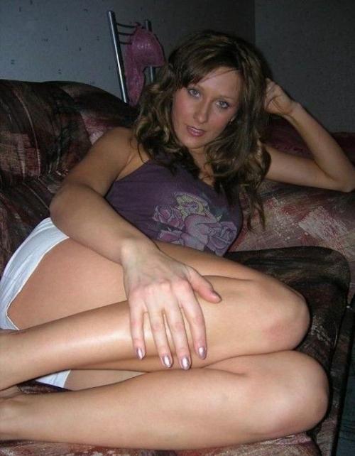 金髪美熟女の流出ヌード画像 2