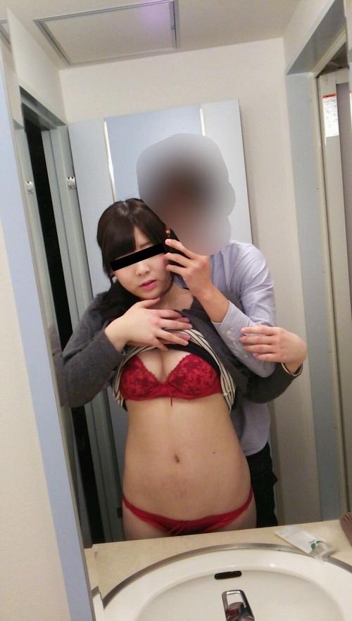 日本の素人女性をホテルで撮影した流出ヌード画像 2