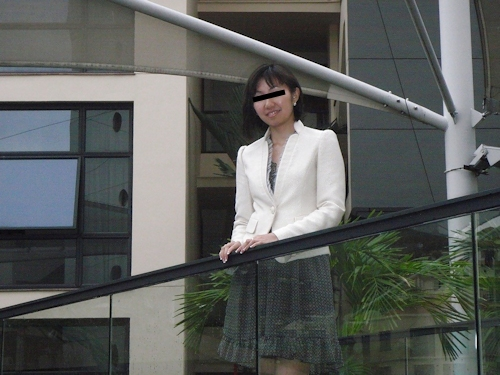 巨乳な日本の素人美少女がSNOWで撮影した自分撮りヌード画像  1