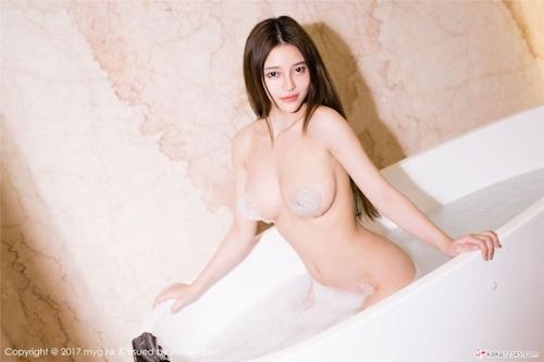 中国美女モデル 唐琪儿Beauty セクシーセミヌード画像3 12