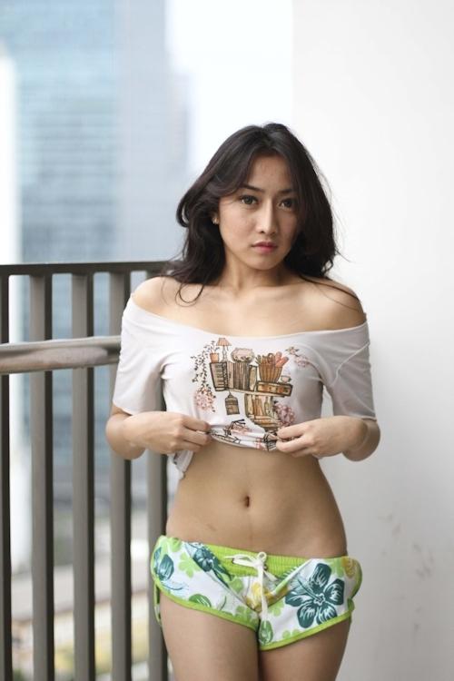 インドネシアの美女モデル Monica Yessy セクシーヌード画像 5
