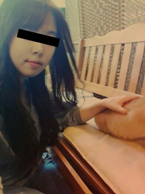 韓国の素人美女(23歳)がラブホで自分撮りした流出ヌード画像 2