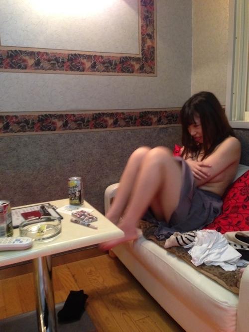 セフレという日本の素人美女のヌード画像 1