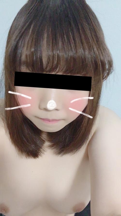 美乳な日本の素人美少女が裏垢にアップした自分撮りヌード画像 9