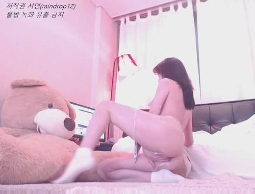 韓国の美人BJがネット配信してるセクシーヌード画像  14