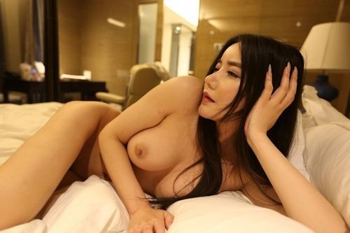 巨乳な中国美女モデル 李妍曦(Li Yanxi) セクシーヌード画像 6