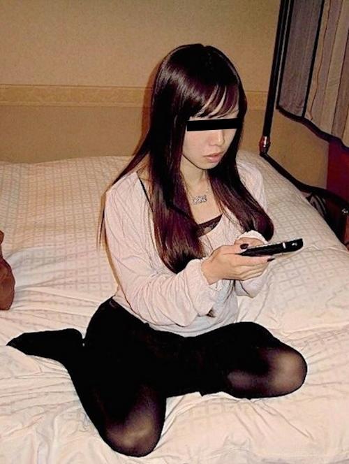 巨乳な日本の素人美女の流出セックス画像 1