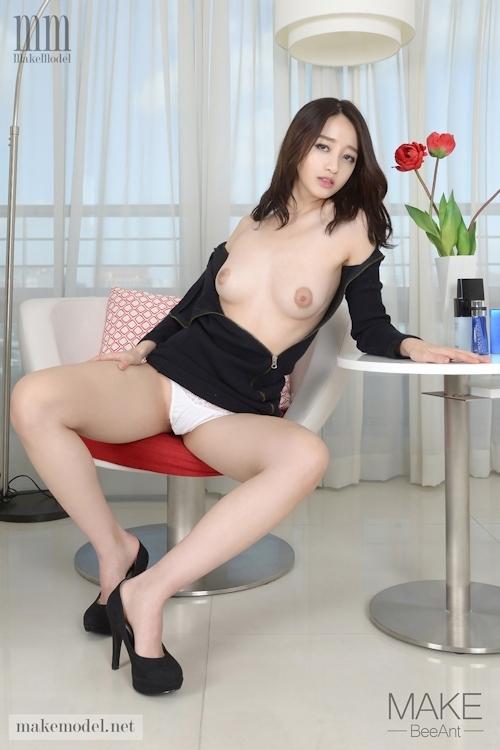 韓国美女モデル スア(Sua) セクシーヌード画像4 3