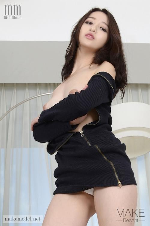 韓国美女モデル スア(Sua) セクシーヌード画像4 7