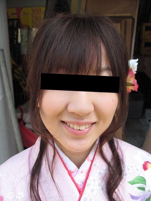 着物を着た日本の素人美女の流出ヌード画像 3