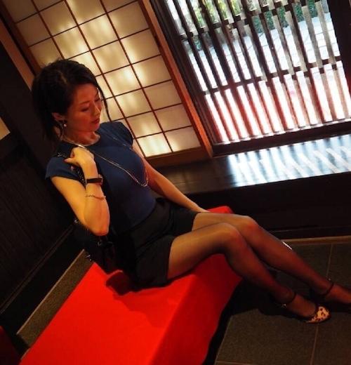 清楚な日本の素人美女のフェラ画像 6