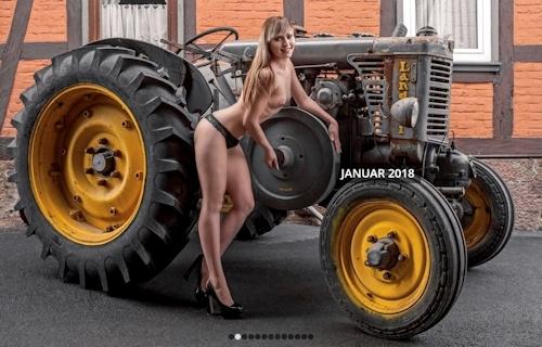 ドイツのトラクター&ヌードカレンダー 2