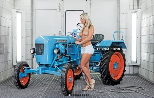 ドイツのトラクター&ヌードカレンダー 3