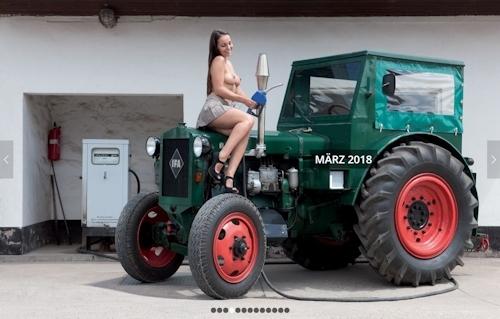 ドイツのトラクター&ヌードカレンダー 4