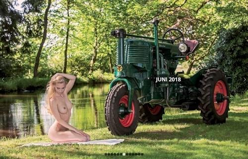 ドイツのトラクター&ヌードカレンダー 7