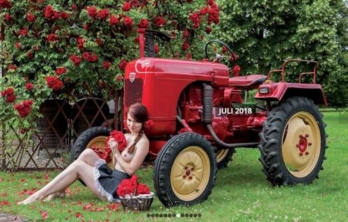 ドイツのトラクター&ヌードカレンダー 8
