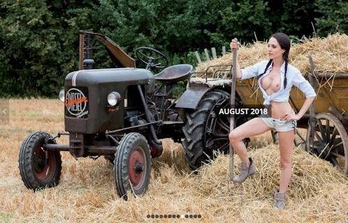 ドイツのトラクター&ヌードカレンダー 9