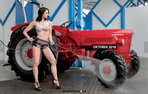 ドイツのトラクター&ヌードカレンダー 11