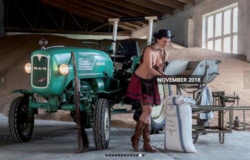 ドイツのトラクター&ヌードカレンダー 12