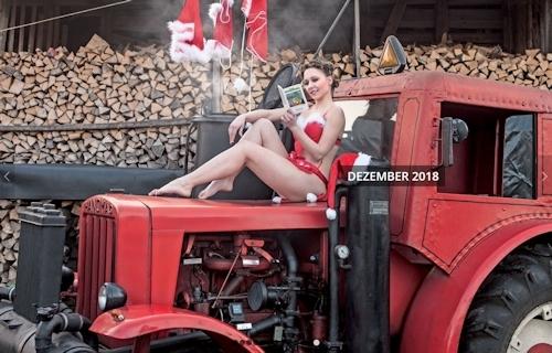 ドイツのトラクター&ヌードカレンダー 13