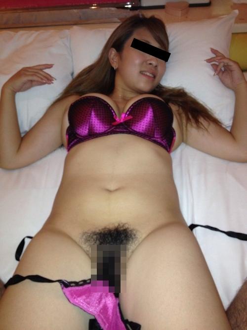 爆乳なガールフレンドをホテルで撮影したプライベートヌード画像 8