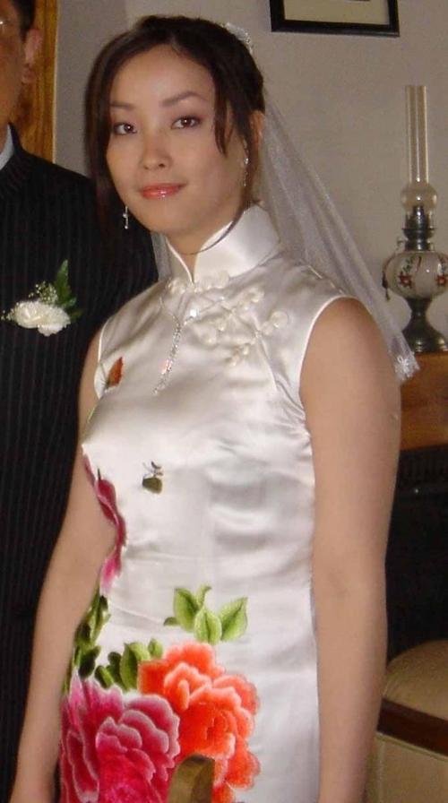 中国の美人妻の流出ヌード画像 1