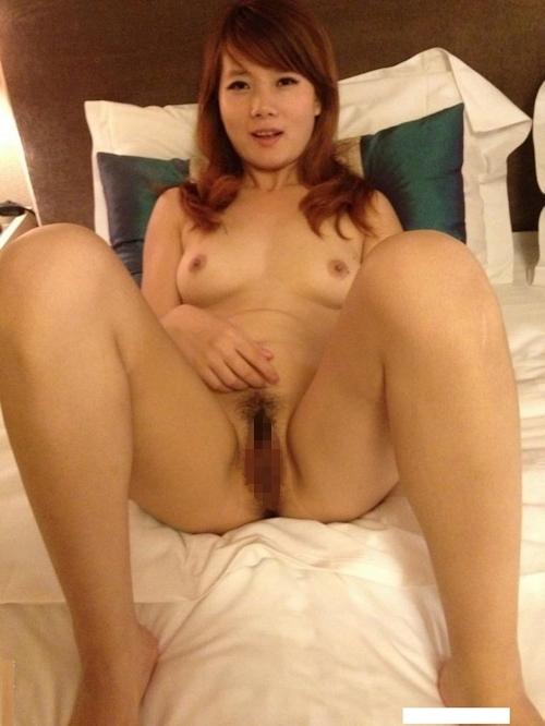 中国素人美女の流出ヌード画像 12