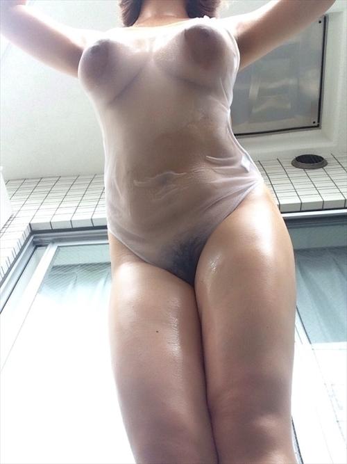 どエロい巨乳おっぱいの素人美女の自分撮りヌード画像 2