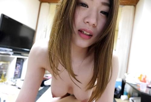 Fカップ巨乳な素人美女のハメ撮りセックス画像 6
