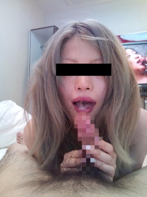 ギャル系美人キャバ嬢の流出セックス画像 6