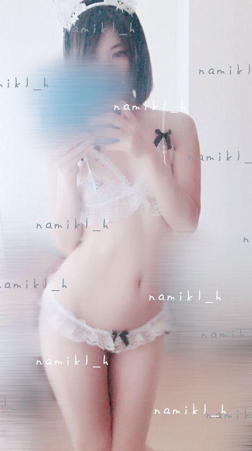 美微乳な素人美少女が自分撮りして裏垢にアップしたヌード画像  1