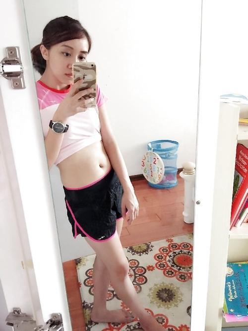 中国の美人女子大生の自分撮りヌード画像が流出 7