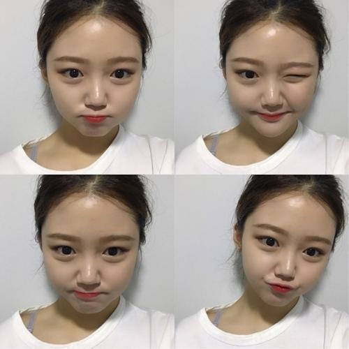 キュートな韓国の20歳素人美少女のプライベートヌード流出画像 3