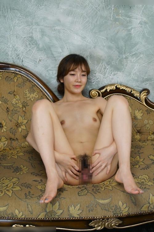 韓国美女モデルのヌード画像 12