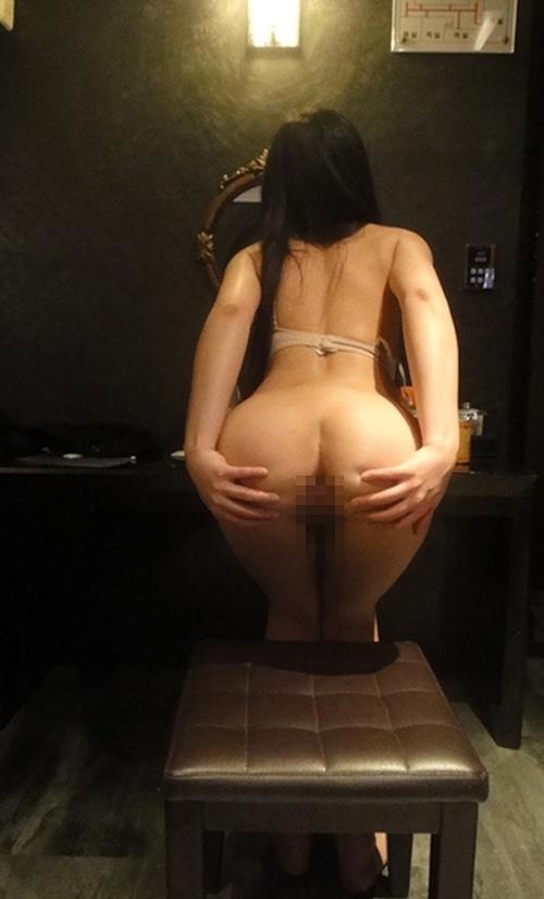 22歳の韓国素人美女のセクシーバックショット画像 6