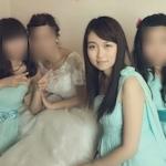 中国の美人ブライズメイドのプライベートヌード画像が流出