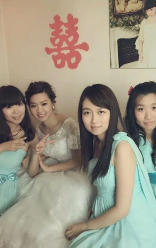 中国の美人ブライズメイドのプライベートヌード画像が流出 1