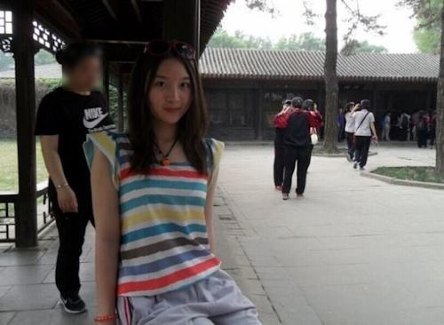 美乳な中国美少女女子大生の自分撮りヌード画像が流出 1