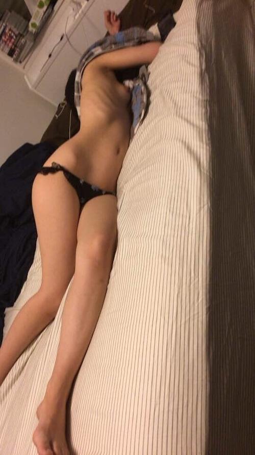 彼氏が撮影した日本の素人美女のプライベートヌード画像が流出 7