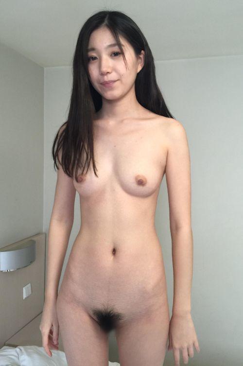 黒髪&美微乳な清楚系美女モデル 張静文をヌード撮影後ハメ撮りした画像 7