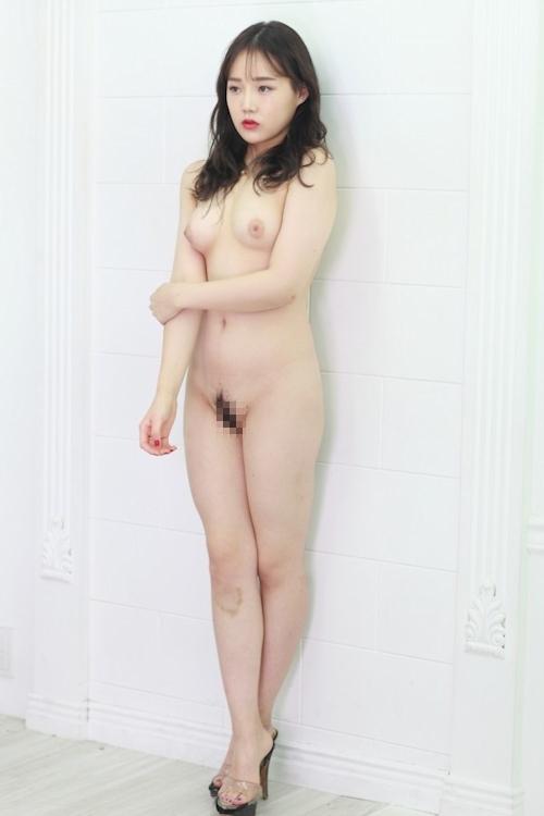 韓国美女モデルを撮影したヌード画像 7